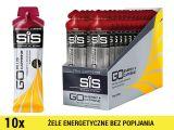 SiS GO Energy +Caffeine Gel [10x60ml] - jagoda