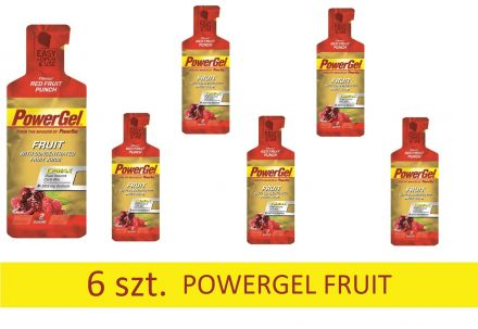 PowerBar Powergel Fruit 6 X 41g [czerwone owoce]
