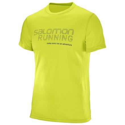 Salomon Running Graphic Tee - męska koszulka biegowa