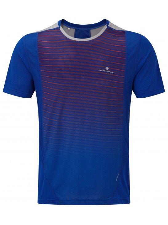 Ronhill Stride S/S Crew - męska koszulka biegowa