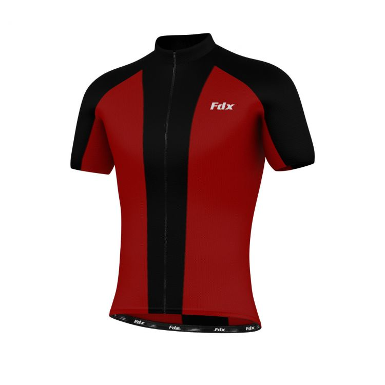 FDX Race Stripe Half Sleeve Jersey - męska koszulka kolarska