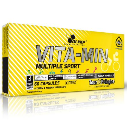 Olimp Vita-min 60 kapsułek TOURDE POLOGNE - witaminy i minerały