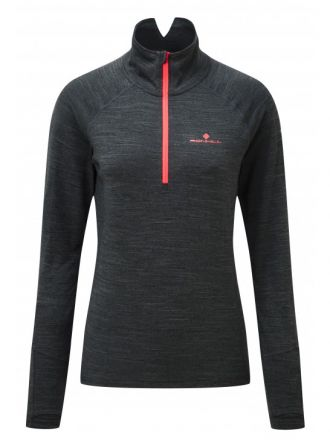 Damska bluza Ronhill Stride Thermal L/S Zip