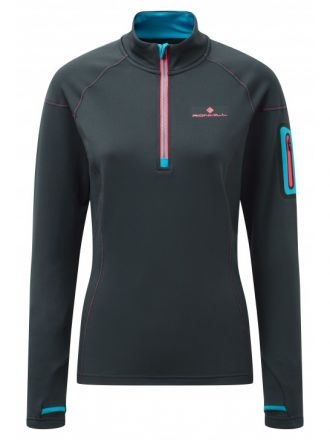 Ronhill Winter 1/2 Zip Tee - damska bluza do biegania