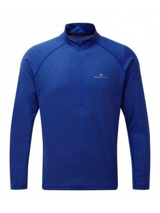 Ronhill  Everyday L/S Zip Tee - męska koszulka do biegania