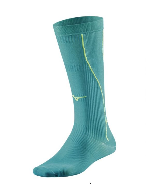 Mizuno Compression Socks - wysokie skarpety kompresyjne
