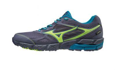 Mizuno Wave Kien 4 G-TX - męskie buty do biegów terenowych z Gore-Tex J1GJ175936