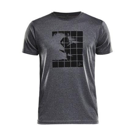 Craft Eaze SS Graphic Tee - męska koszulka biegowa 1906034_975000