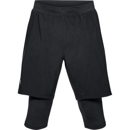 Under Armour Launch SW Long Short -  męskie spodenki do biegania 2 w 1 1309602-001
