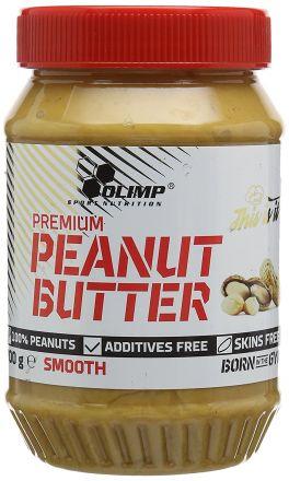 Olimp Premium Peanut Butter 700g Smooth - masło orzechowe
