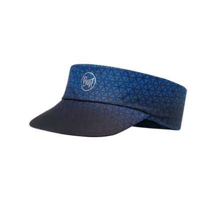 Buff Pack Run Visor R-Equilateral Cape Blue - daszek sportowy