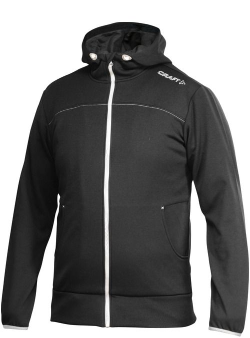 Craft Leisure Full Zip Hood - męska bluza sportowa z kapturem