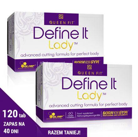 DEFINE IT LADY Suplement diety w postacji tabletek.