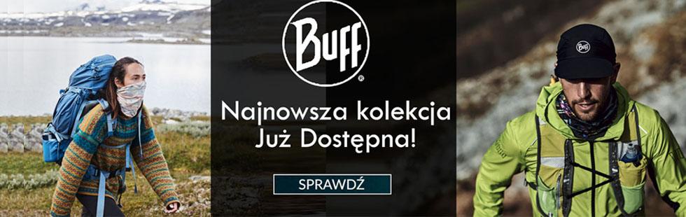 Najnowsza kolekcja marki Buff. Chusty wielofunkcyjne, czapki i kominy