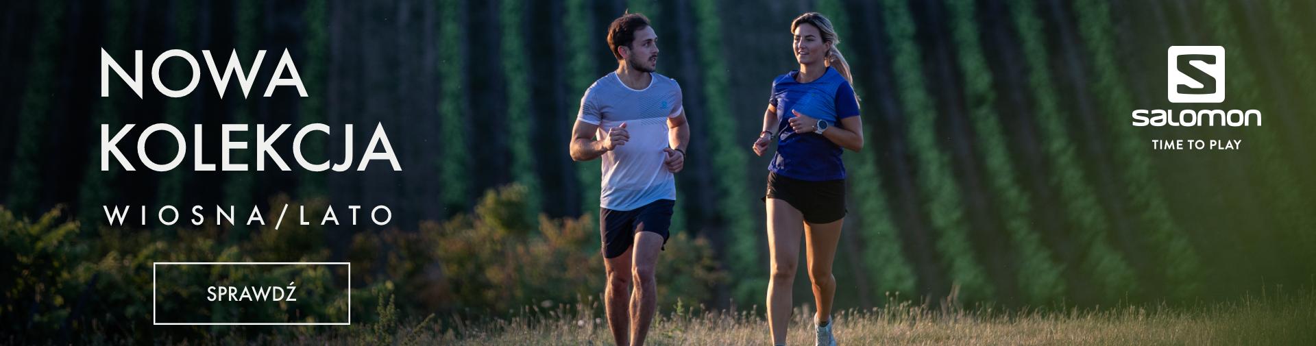 Nowa kolekcja odzieży do biegania od marki Salomon. Kolekcja wiosna-lato