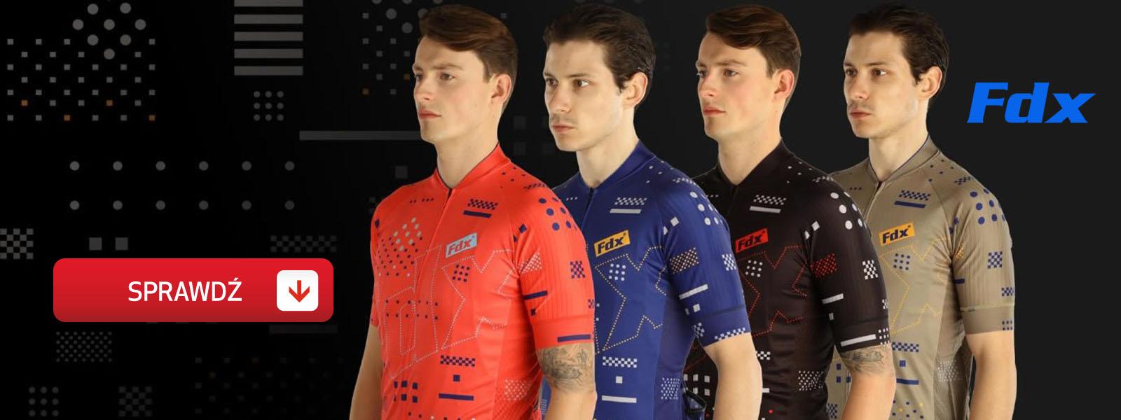 nowa kolekcja odzieży rowerowej fdx