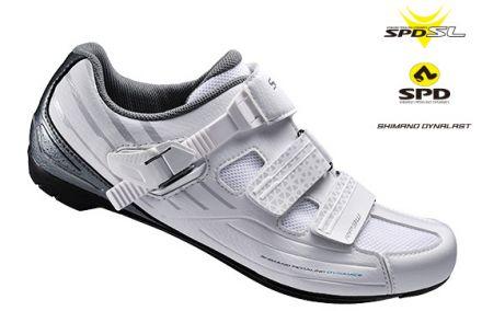 Damskie buty rowerowe Shimano RP3 na szosę.