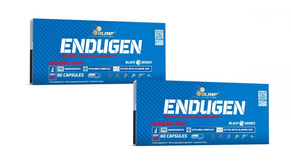 Aż 120 kapsułek Olimp Endugen zwiększa wytrzymałość i wydolność tlenową (VO2MAX)
