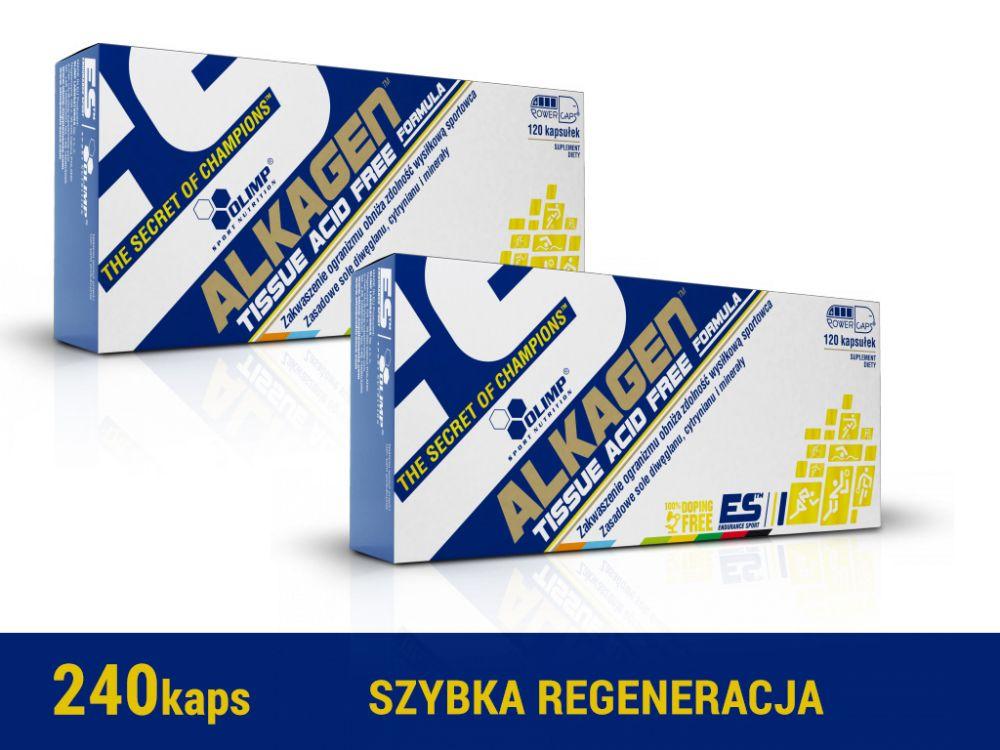 Olimp Alkagen 240 kapsułek [2x120kaps]