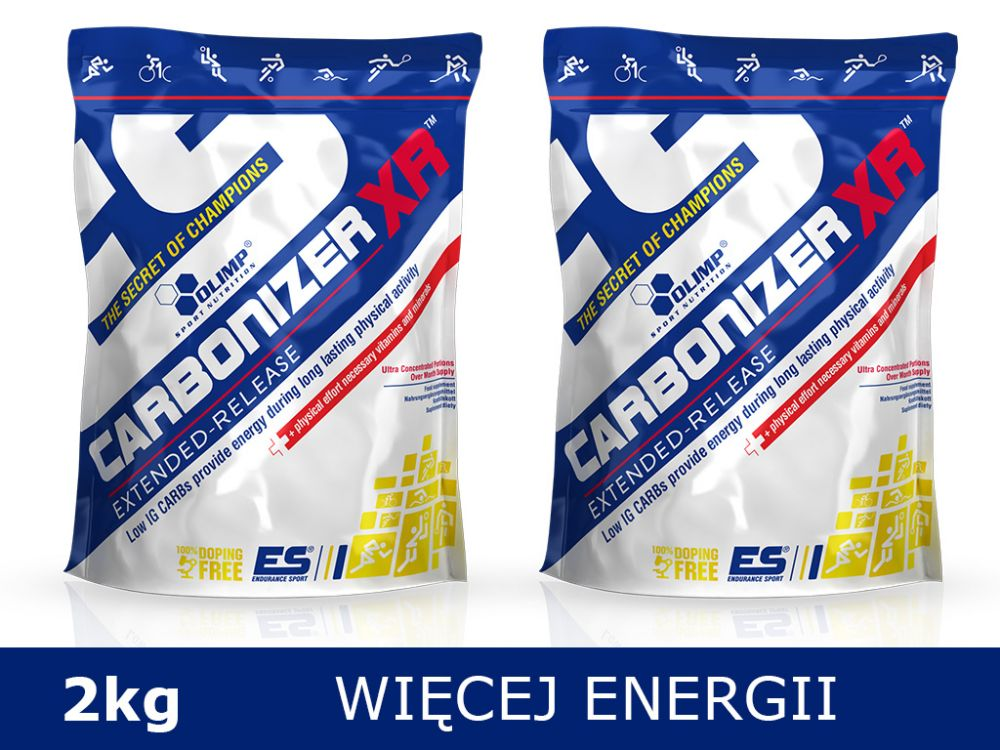 Olimp Carbonizer XR™ 2kg [2x1kg] - truskawka