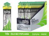 SIS GO Energy +Electrolyte 10x60ml - [cytryna-mięta]