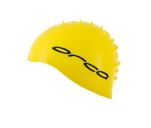Orca Silicone Swim Cap | ŻÓŁTY