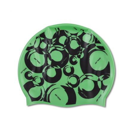 Orca Silicone Swim Cap Print | ZIELONY
