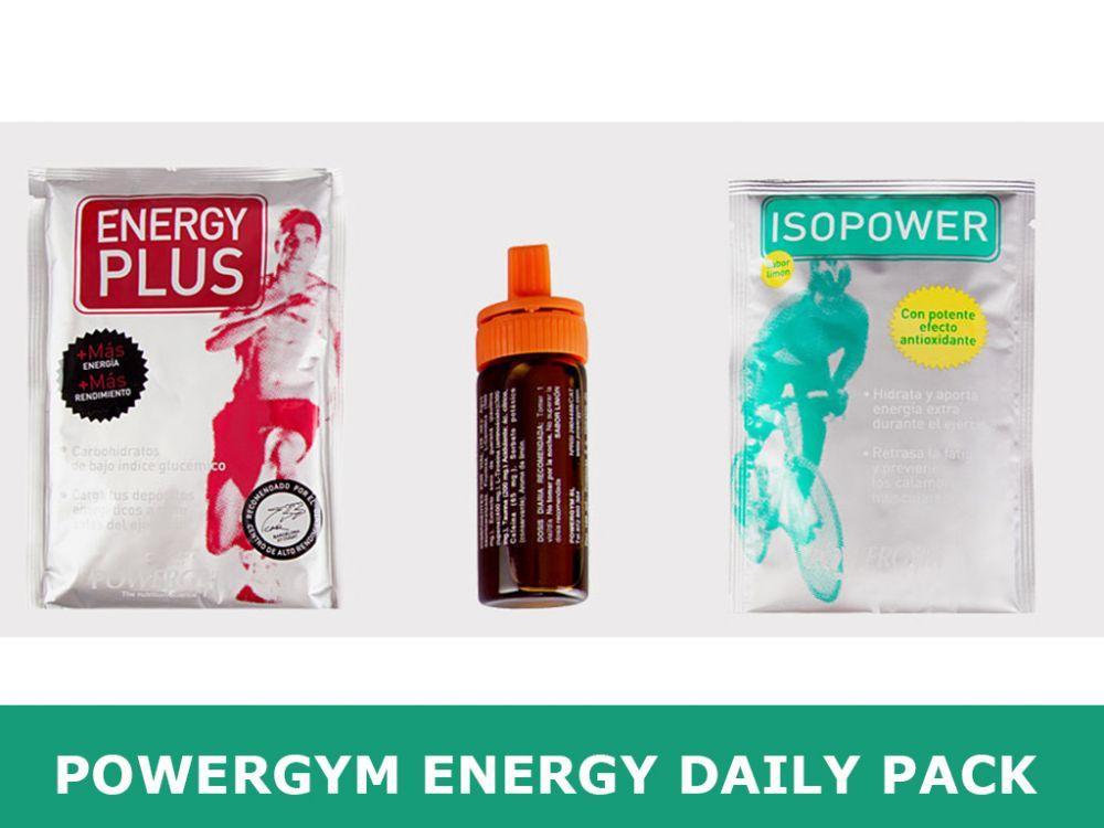 Zestaw suplementów na trening i zawody Powergym Energy Daily Pack