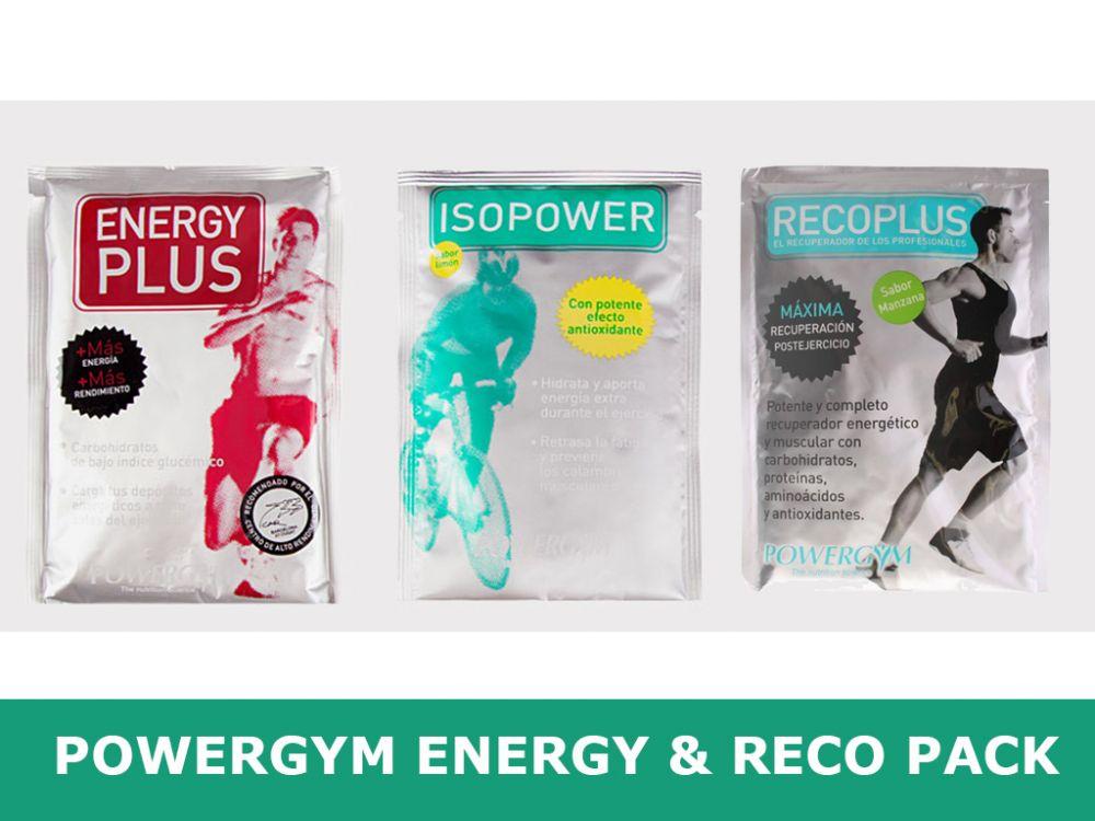 Zestaw suplementów na trening i zawody Powergym Energy&Reco Pack