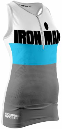 Compressport TR3 TANK TOP IRONMAN® STRIPES