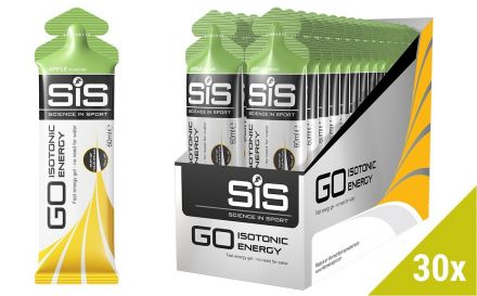 SIS GO Isotonic Gel 30x60ml - jabłko