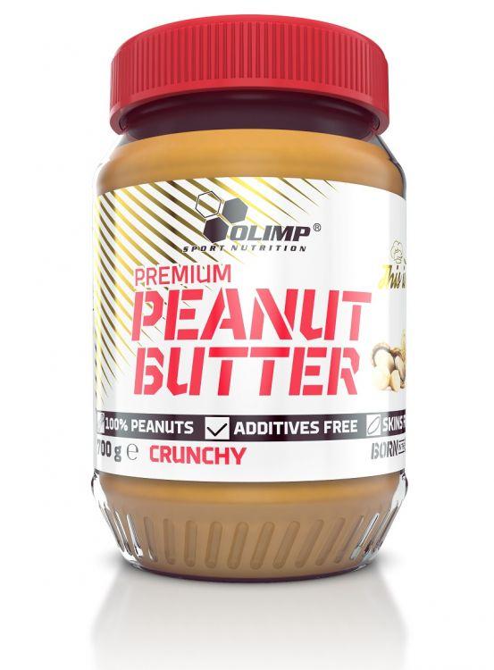 Olimp Premium Peanut Butter 700g - masło orzechowe