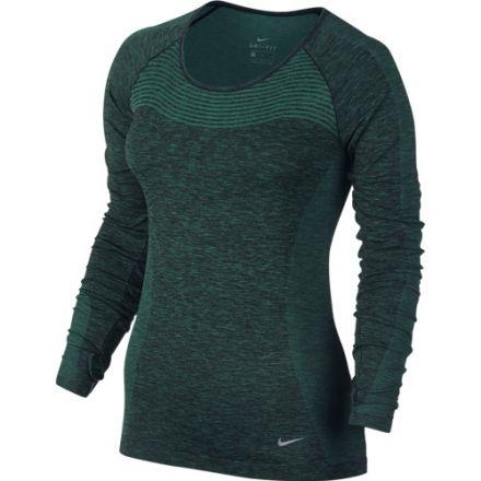 Nike Dri-Fit Knit LS - damska bluza biegowa 718582_351