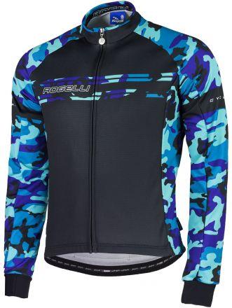 Rogelli Camo LS Jersey - męska bluza rowerowa