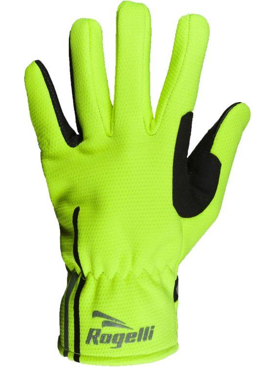 Rogelli Winer Gloves Angoon | ŻÓŁTE