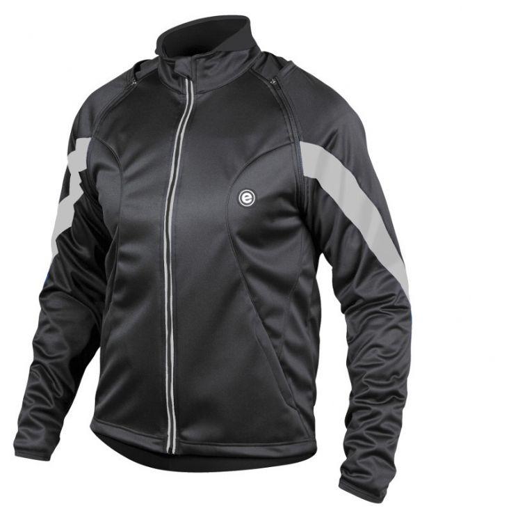 Etape Strong WS - ciepła kurtka rowerowa z licznymi odblaskami