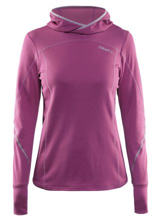 Craft Mind LS Hood - damska bluza sportowa z kapturem