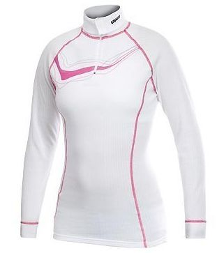 Craft Active Full Zip Turtleneck