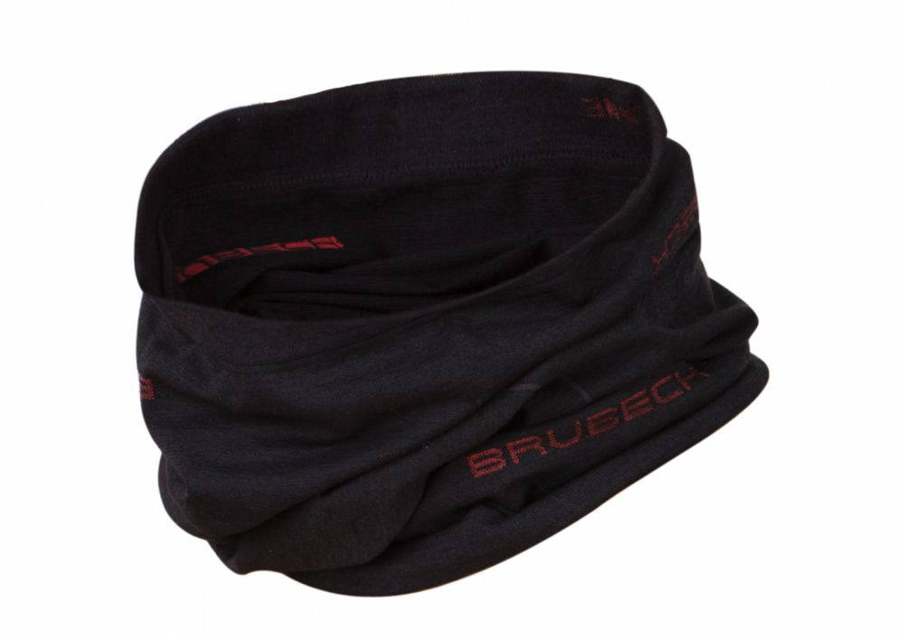 Brubeck Wool Neck Gaiter | BLACK