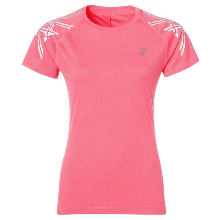 ba0fe71f2db942 Koszulka do biegania damska Damska Koszulka Sportowa Asics Stripe SS ...