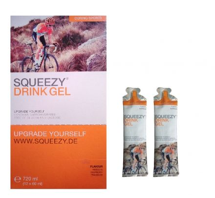 Squeezy Super Drink Gel 12x60ml