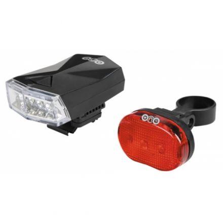 Zestaw lampek rowerowych One VISION 1.0 Set