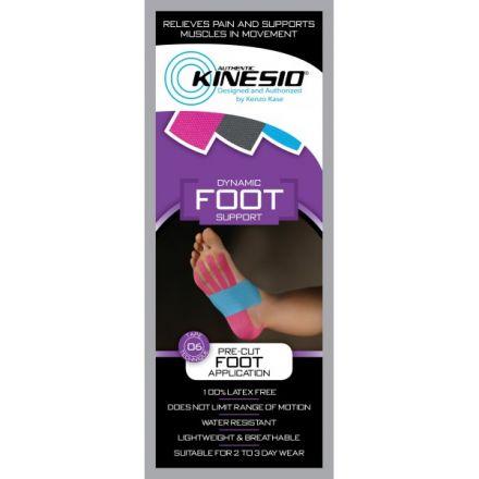 Kinesio Pre-Cut Foot