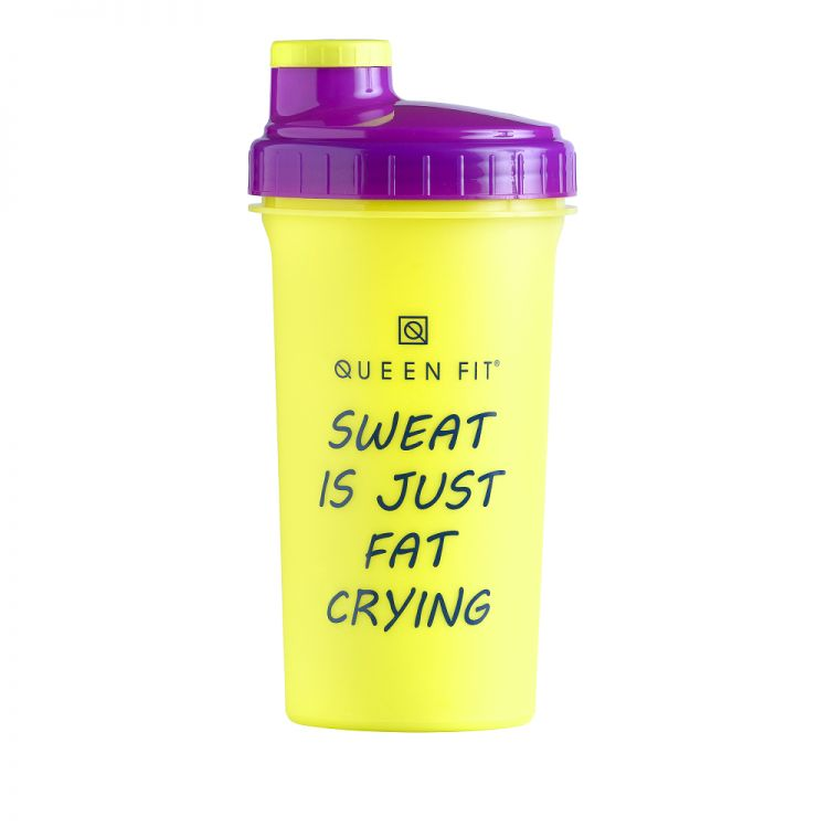 SHAKER OLIMP QUEEN FIT MOTIVATION 700 - SWEAT IS JUST FAT CRYING