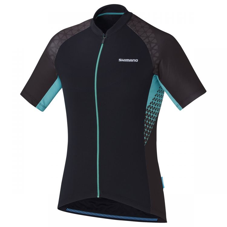 Shimano W's Escape Print Short Sleevy Jersey