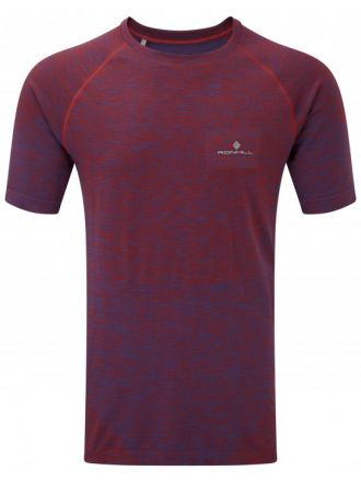 Męska koszulka do biegania Ronhill Infinity Space-Dye S/S Tee