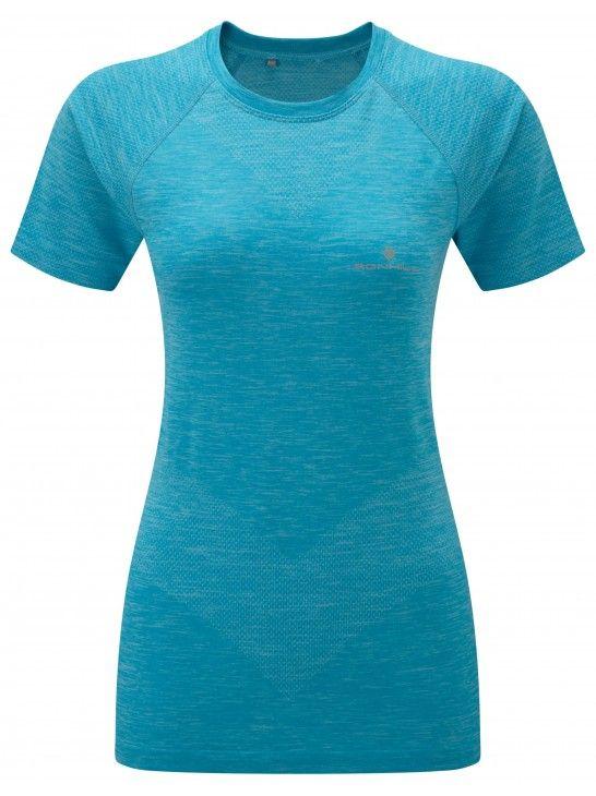 Ronhill Infinity Space-Dye SS Tee - damska koszulka biegowa