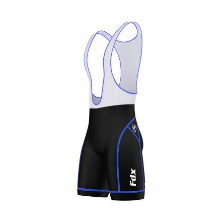 FDX Padding Cycling Bib Shorts - męskie spodenki kolarskie