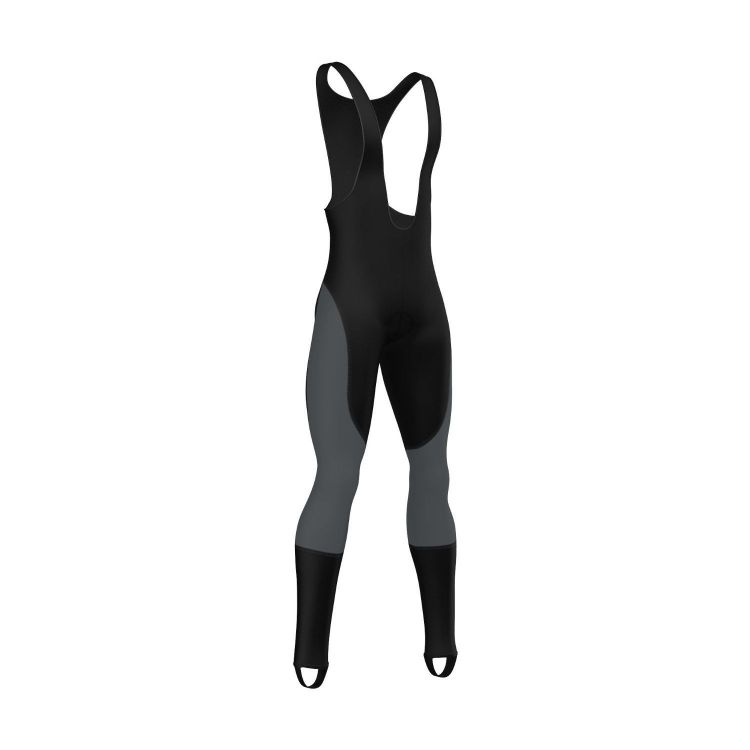 FDX Winter Thermal Bib Tights - męskie ocieplane getry rowerowe