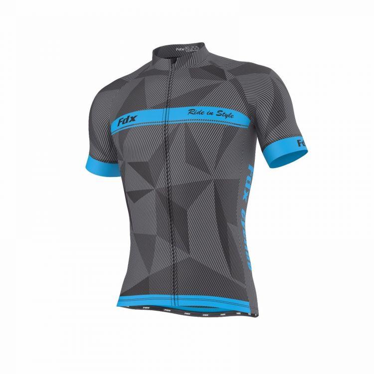 FDX Breathable Half Sleeve Jersey - męska koszulka kolarska